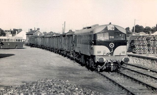 Goods train, Ardee (2)