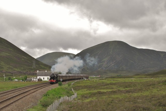 Steam in the Drumochter Pass
