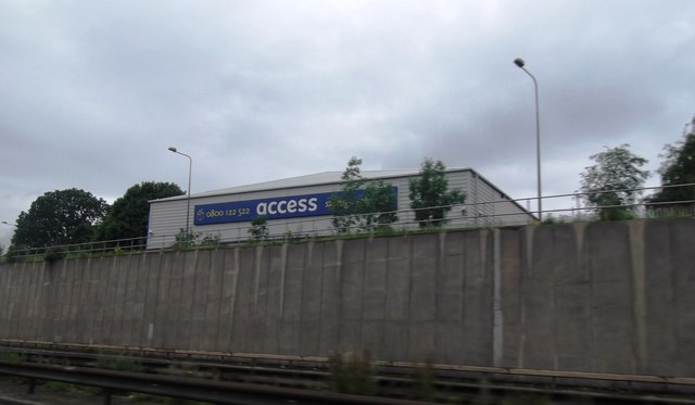 Industrial Unit by the M56