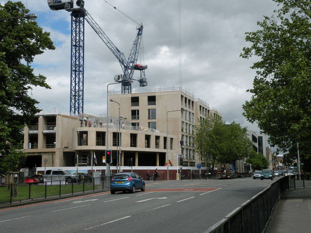 Building Parkside Place (July 2012)