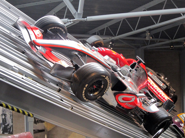 Mclaren F1 Car At Beaulieu Motor Museum Oast House