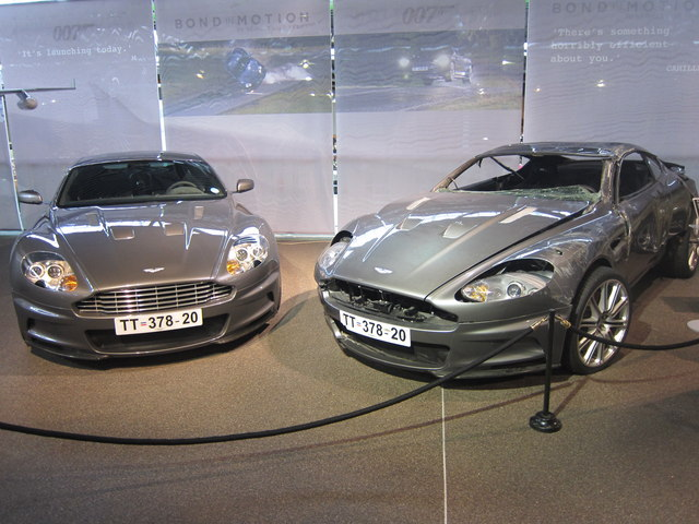James Bond Aston Martins At Beaulieu Oast House