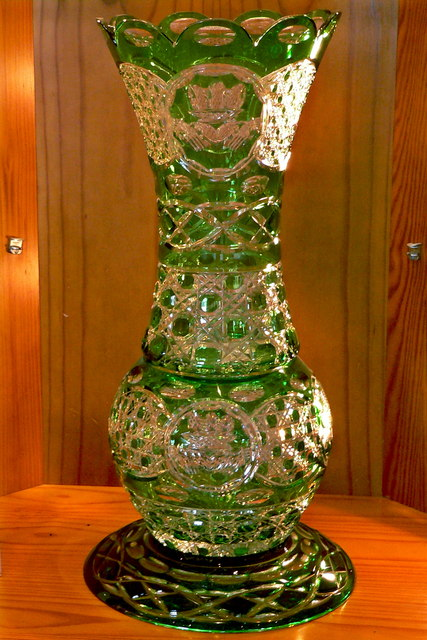 Moycullen Celtic Crystal Tall Clear 169 Joseph Mischyshyn Geograph Ireland