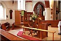 TQ3068 : St Philip, Beech Road, Norbury - Pulpit by John Salmon