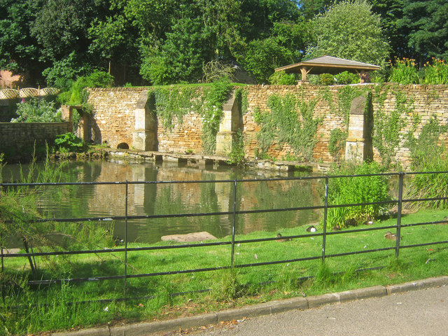 Village pond at Harlaxton