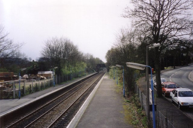 Barnt Green Station in 1991