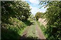 SJ5078 : Footpath to River Weaver by Dave Dunford