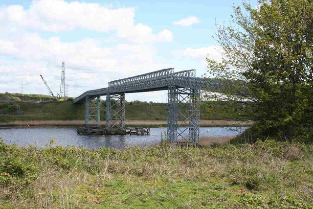 Private bridge over River Weaver