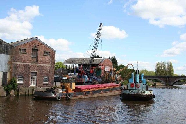Weaver barges