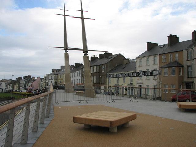 Boat sculpture, Portrush