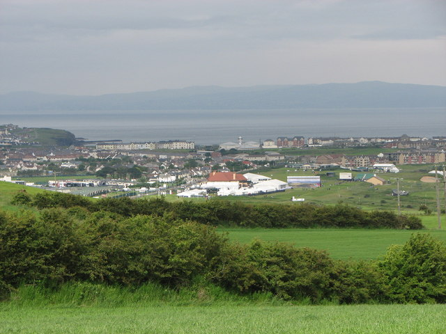 Portrush from a distance
