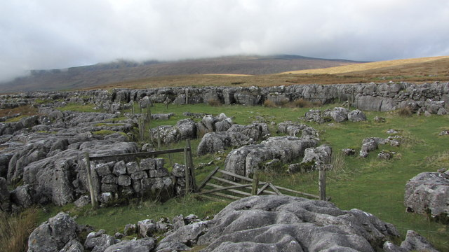 A natural sheepfold