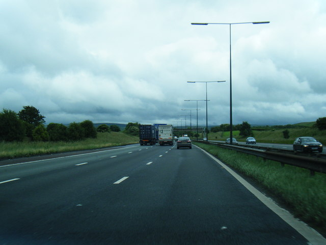 M62 north of Chadwick Fold