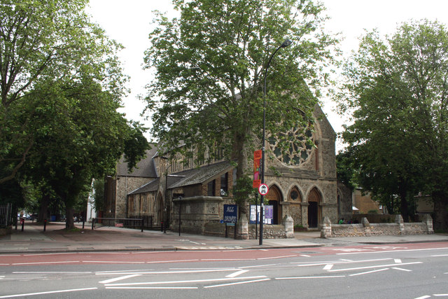 New Cross Road:  All Saints Church
