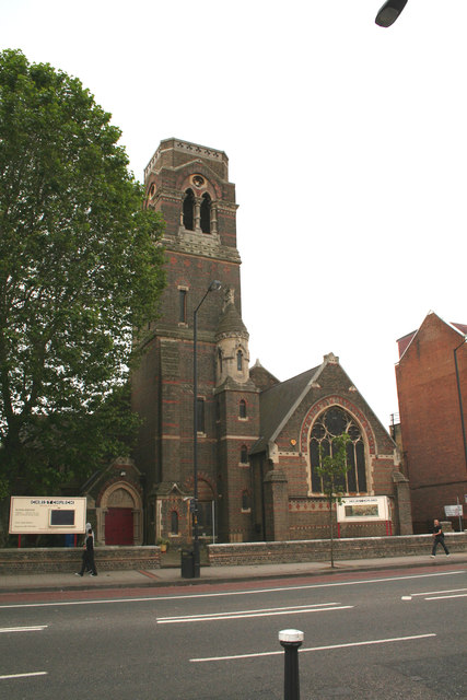Old Kent Road:  Christ Church