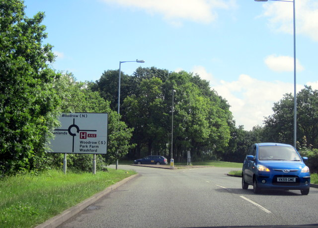 Redditch, Rough Hill Drive, Turn Right For Hospital