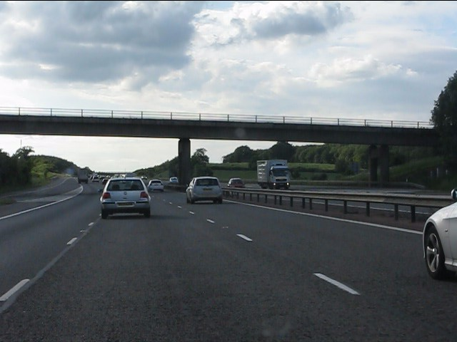 Junction 12 bridge, M40 motorway