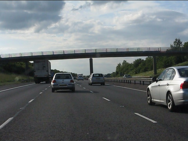 Centenary Way bridge, M40 motorway