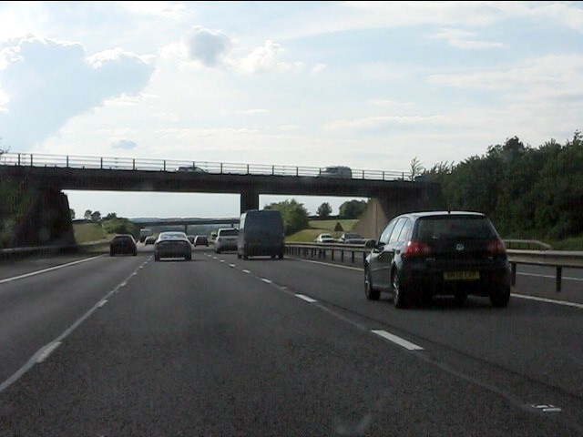 Junction 13 bridge, M40 motorway