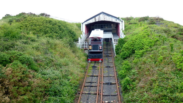 Constitution Hill funicular station