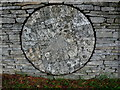 SP1521 : Millstone at Slaughter farm (2) by Nigel Mykura