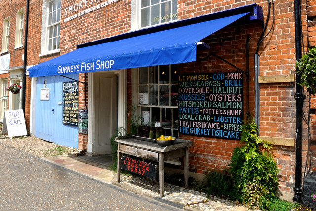 Gurneys Fish Shop - Burnham Market