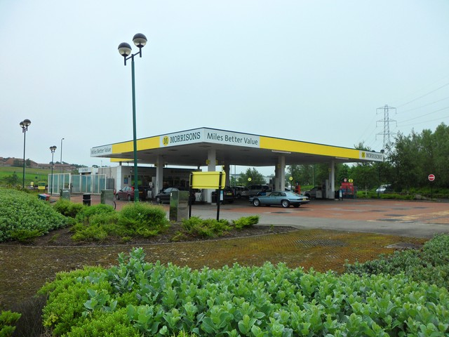 Morrisons petrol station, Lindsayfield, East Kilbride