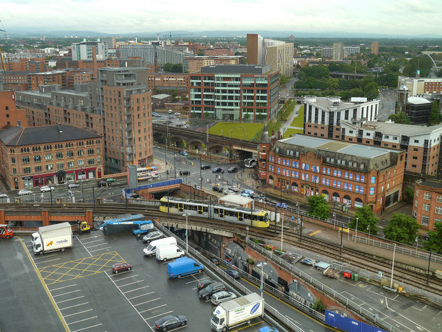 Manchester from the Beetham Tower