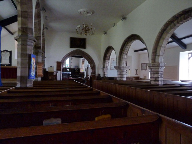 St Cuthbert's Church, Aldingham, Interior