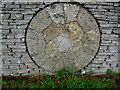 SP1521 : Millstone at Slaughter Farm (6) by Nigel Mykura