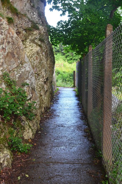 Path by the Wye, Rhayader