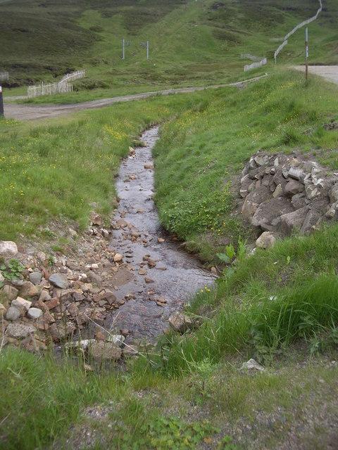Downstream Allt a'Choire Sheirdith