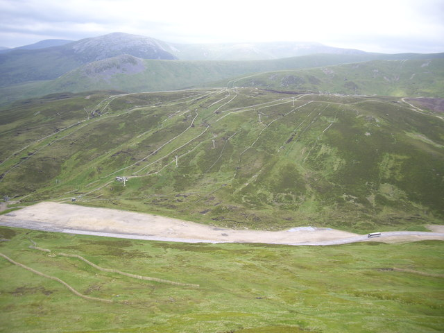 A93 at Cairnwell Summit