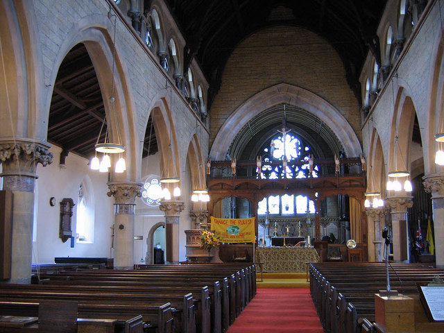 Interior of St Paul's church