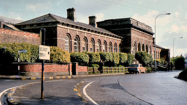 Former railway station, Monaghan