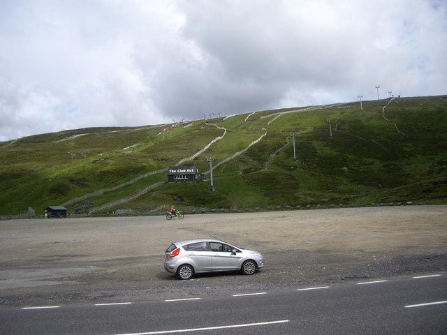 Glenshee Ski Area carpark