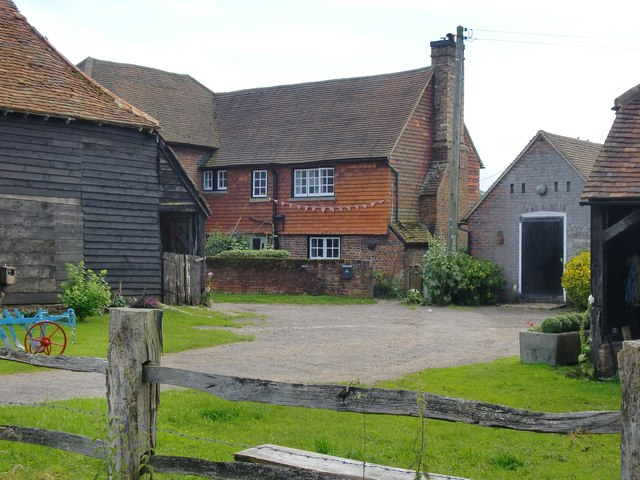 Pondtail Farm, west of Brockham