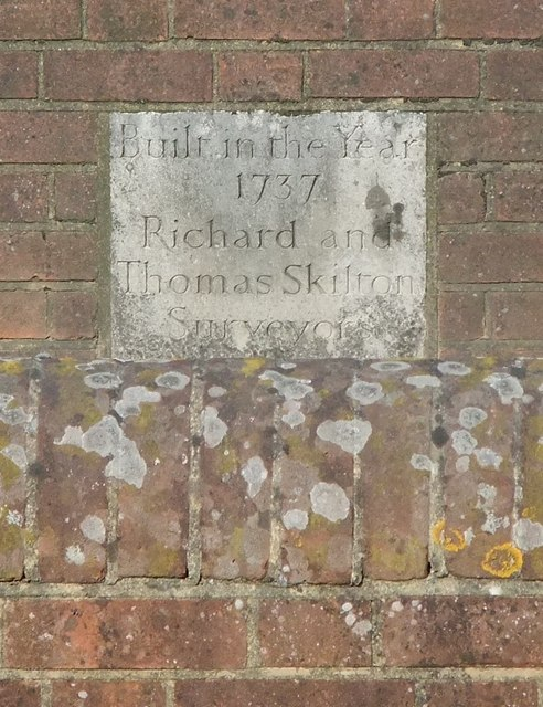 Inscription on the Borough Bridge, Brockham