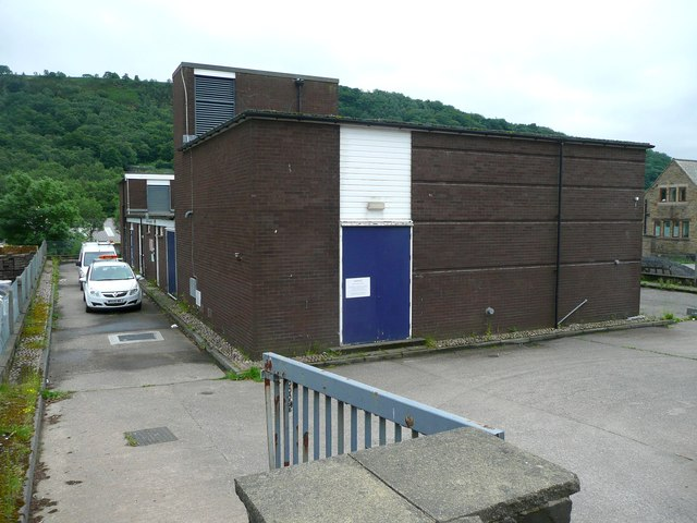 Telephone exchange, Burnley Road
