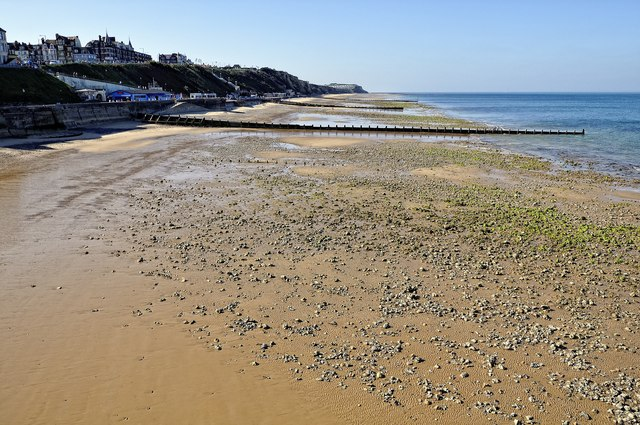 Cromer beach - west of pier