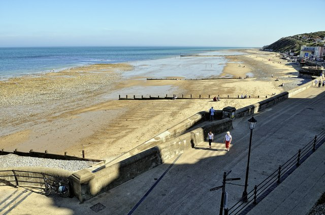 Cromer beach - south of pier
