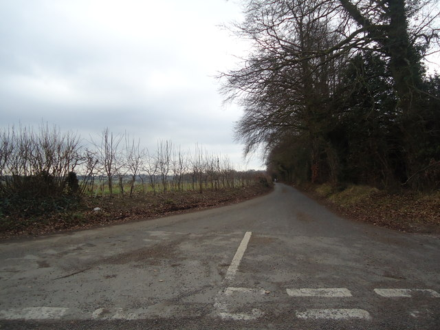 Lane near Barfrestone