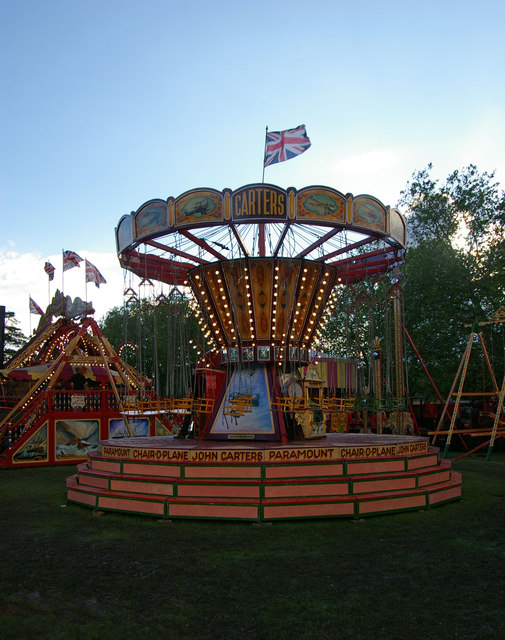 Fairground attraction, Priory Park