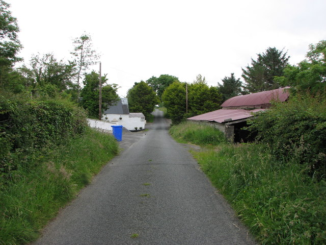 Minor road , Donegal