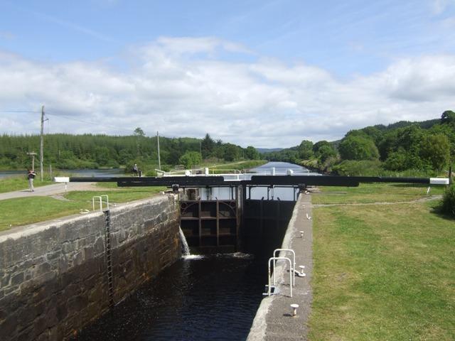 Crinan Canal - Lock No 9