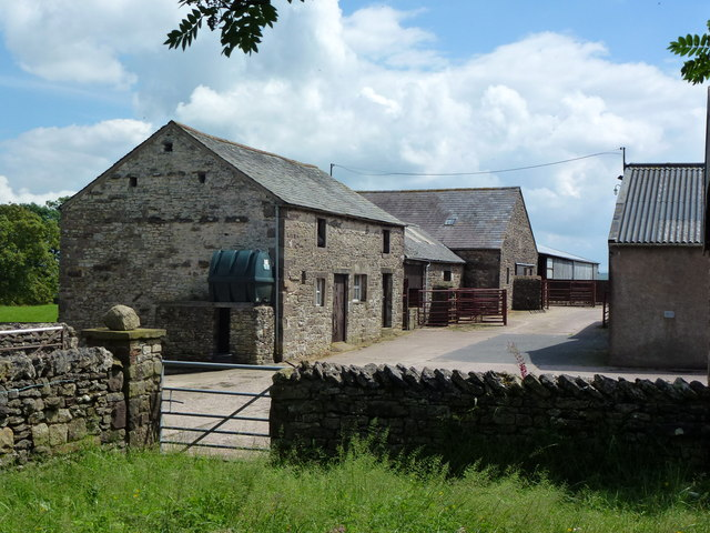 Farmyard at Low Harberwain