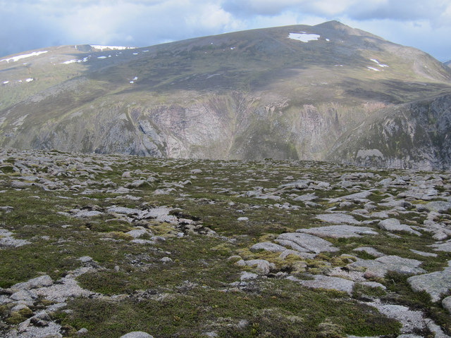 Flanks of Beinn Bhrotain