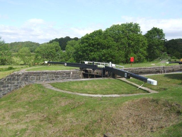 Crinan Canal - Lock No 13