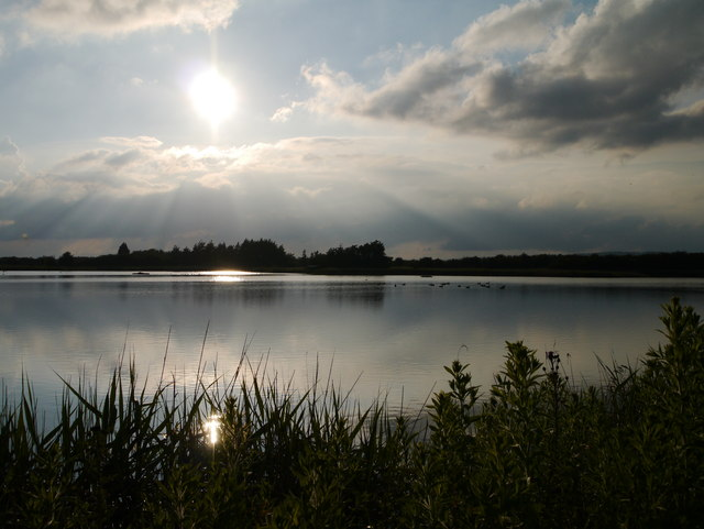Near Sunset at Far Ings Nature Reserve