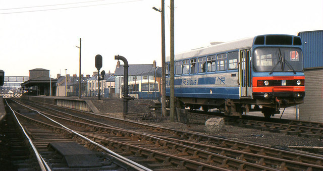 Railbus, Coleraine station